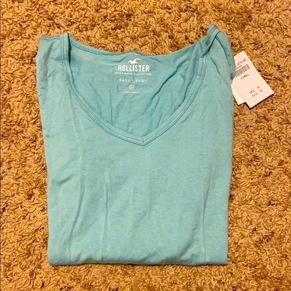 Hollister Teal T-Shirt